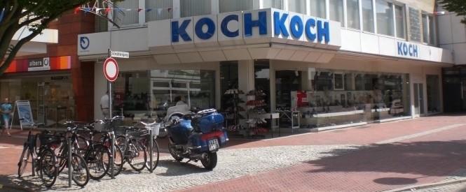 Schuhhaus Front